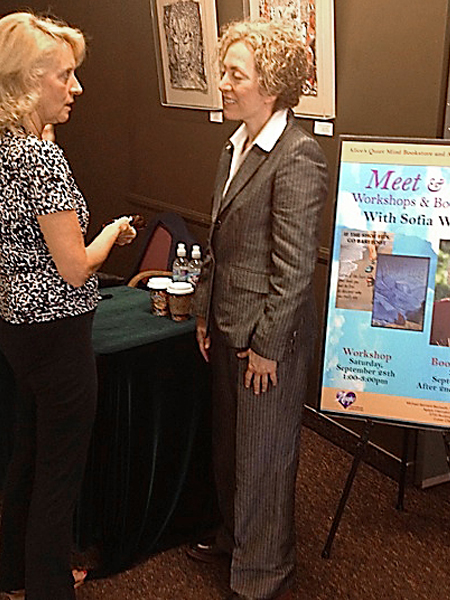 Sofia Wellman is Michael Bernard Beckwith's guest for a workshop and book signing at the Agape International Spiritual Center
