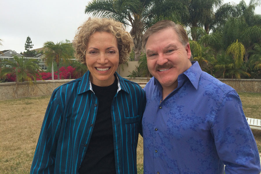 "Sofia Wellman Interviews James Van Praagh for the film ""What's Love Got To Do With It"" Film by Sofia Wellman"